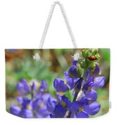 Yosemite Lupine And Ladybug Weekender Tote Bag