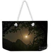 Yosemite Moonrise Weekender Tote Bag
