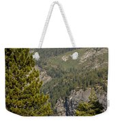 Yosemite Mountain High Weekender Tote Bag