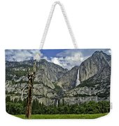 Yosemite Upper And Lower Falls Weekender Tote Bag
