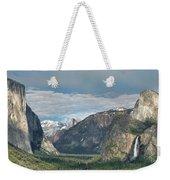 Yosemite Valley Afternoon Weekender Tote Bag