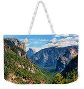Yosemite Valley Overlook Weekender Tote Bag