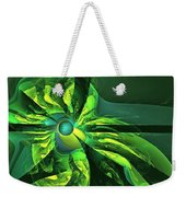 You Are Here --  Events Conspire -- Green Weekender Tote Bag