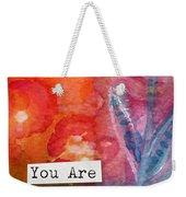 You Are In My Prayers- Watercolor Art Card Weekender Tote Bag