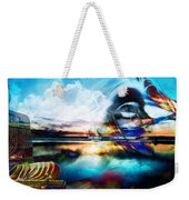 You Are The Buddha Weekender Tote Bag