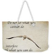 You Can Do It  Weekender Tote Bag