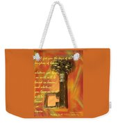 You Hold The Key Weekender Tote Bag