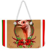 You Only Love Us For Our Breasts Christmas Card Weekender Tote Bag