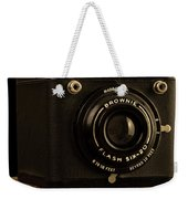 You Push The Button We Do The Rest Kodak Brownie Vintage Camera Weekender Tote Bag