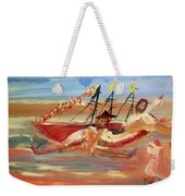 You Said It Was A Big Boat Weekender Tote Bag