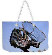 You Spin Me Round Weekender Tote Bag