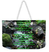 You Weren't There Weekender Tote Bag