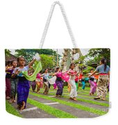 Young Bali Dancers - Indonesia Weekender Tote Bag