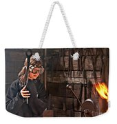 Young Blacksmith Girl Art Prints Weekender Tote Bag