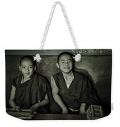 Young Buddhist Monks Weekender Tote Bag