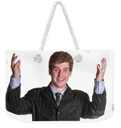 Young Business Man  Weekender Tote Bag