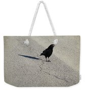 Young Cawing Crow Weekender Tote Bag