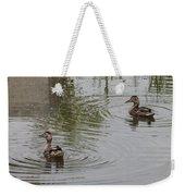 Young Ducks Weekender Tote Bag