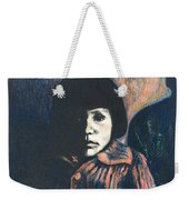 Young Girl Weekender Tote Bag
