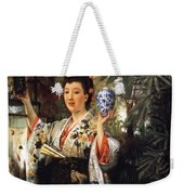 Young Japanese Lady Weekender Tote Bag
