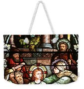 Young Jesus In The Temple Weekender Tote Bag