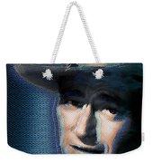 Young John Wayne Pop 2 Weekender Tote Bag