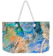 young lady in Papeete Weekender Tote Bag