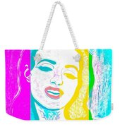 Young Marilyn Soft Pastels Impression Weekender Tote Bag