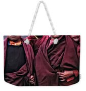 Young Monks II Weekender Tote Bag