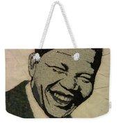 Young Nelson Mandela Weekender Tote Bag
