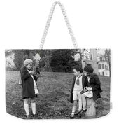 Young Photographer, C1915 Weekender Tote Bag