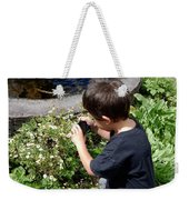 Young Photographer Weekender Tote Bag