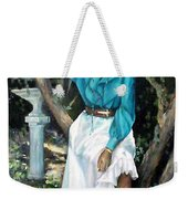 Young Self Portrait Weekender Tote Bag