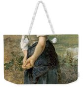 Young Shepherdess Weekender Tote Bag