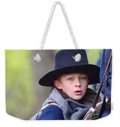 Young Solider Weekender Tote Bag