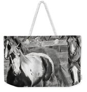 Young Stallions Weekender Tote Bag