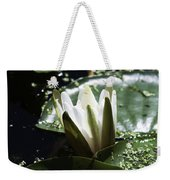Young Water Lily Weekender Tote Bag