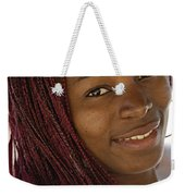 Young Woman Costa Rica Weekender Tote Bag