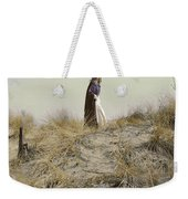 Young Woman In Cloak On A Hill Weekender Tote Bag