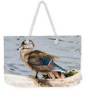 Young Wood Duck Weekender Tote Bag