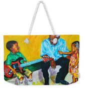 Your Attention Plez Weekender Tote Bag