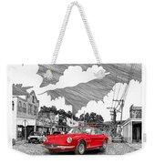 Your Ferrari In Tularosa N M  Weekender Tote Bag