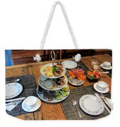 Your Invited To A Tea Party Weekender Tote Bag