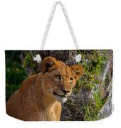 Your Lioness Weekender Tote Bag