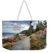 Your Path Weekender Tote Bag