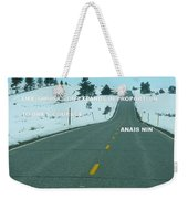 Your Road Weekender Tote Bag