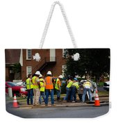 Your Tax Dollars At Work Weekender Tote Bag