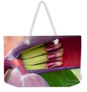 Your Treasure - Mai'a Maoli - Tropical Hawaiian Banana Flower  Weekender Tote Bag