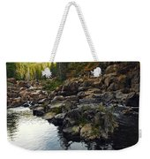 Yuba River Rocks Weekender Tote Bag