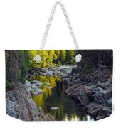 Yuba River Twilight Weekender Tote Bag